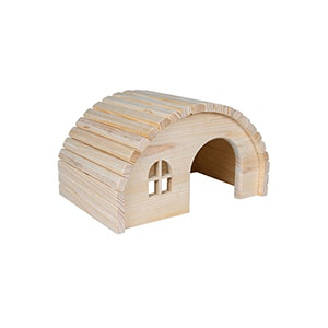 Casita madera para hámsters