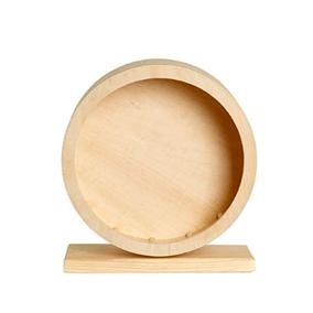 Rueda de madera para hámster Roborowskii de 15 cm