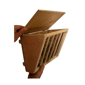 Dispensador de heno para cobayas