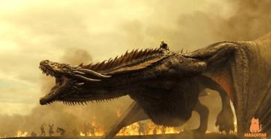 ¿Cómo se llaman los dragones de Juego de Tronos?