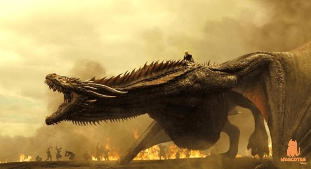 Cómo se llaman los dragones de Juego de Tronos