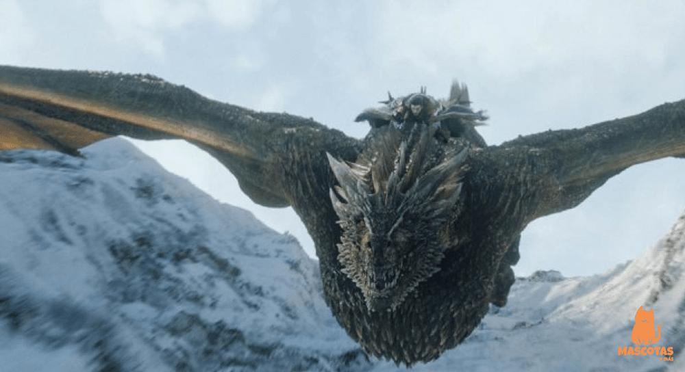 Rhaegal, dragón de juego de tronos