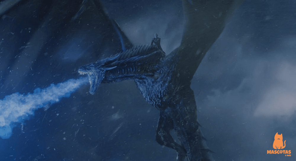 Viserion, dragón de juego de tronos