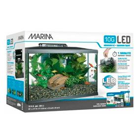 Marina Kit de Acuario con Iluminación 38l