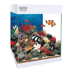 Kit Acuario Nano AquaLED Crystal 20l