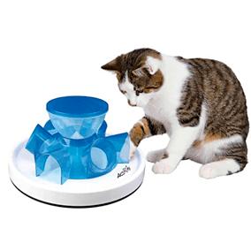 Comedero de túnel para gatos